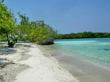 La playas de los cayos de Morrocoy, en el estado Falcón, son uno de los principales destinos turísticos de Venezuela.