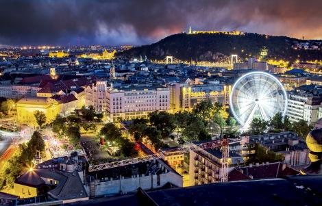 La bella capital húngara recibirá a miles de amantes de los deportes acuáticos.